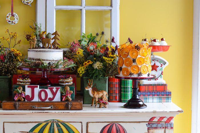 Rustic Australian Christmas Dessert Table on Kara's Party Ideas | KarasPartyIdeas.com (27)