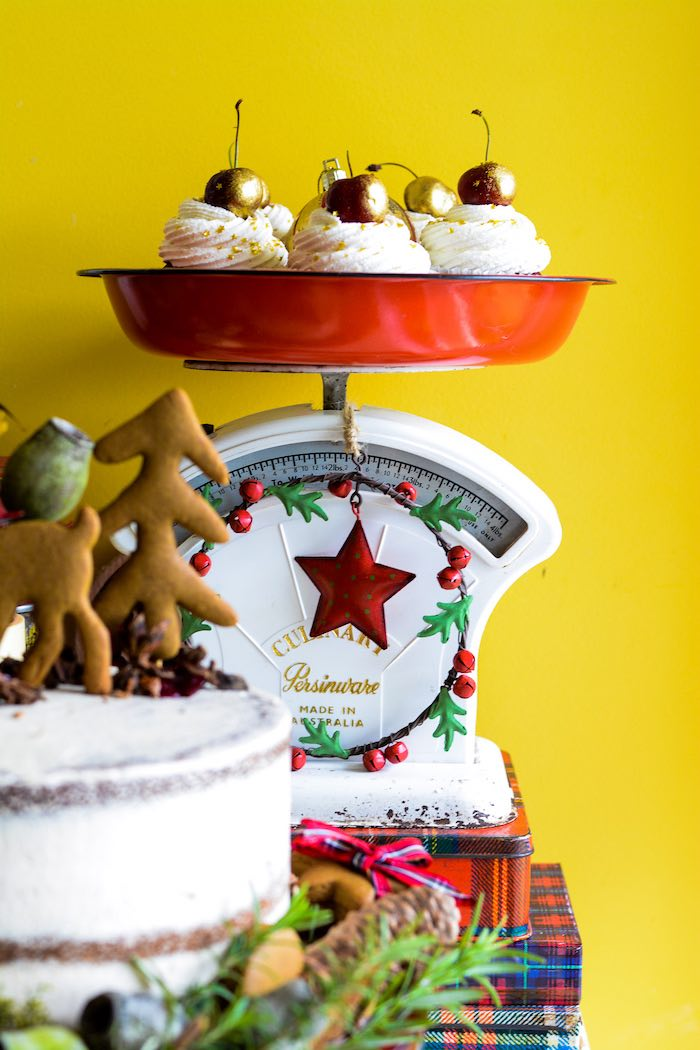 Cupcakes in a Scale from a Rustic Australian Christmas Dessert Table on Kara's Party Ideas | KarasPartyIdeas.com (35)