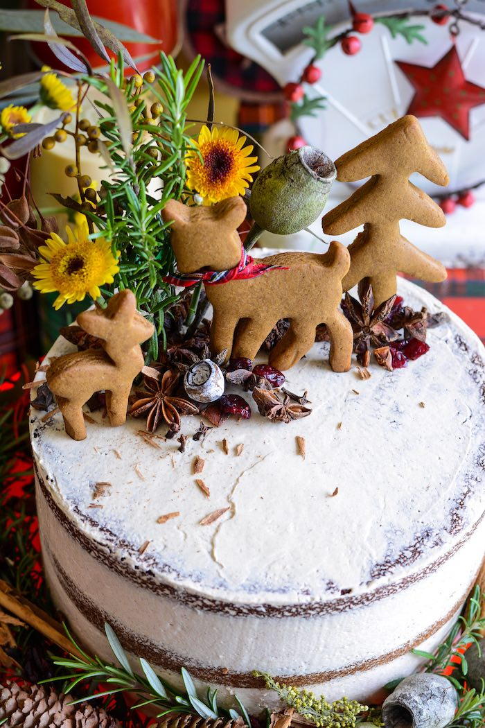 Kara S Party Ideas Rustic Australian Christmas Dessert Table Kara S Party Ideas