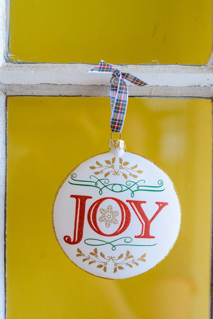 JOY Tag from a Rustic Australian Christmas Dessert Table on Kara's Party Ideas | KarasPartyIdeas.com (30)