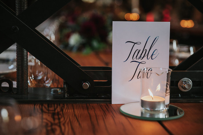 Table Assignment Signage from a Rustic Mountain Wedding on Kara's Party Ideas | KarasPartyIdeas.com (14)