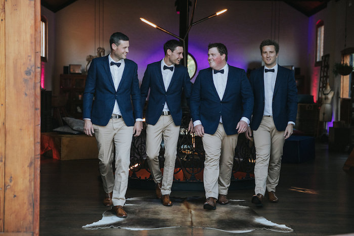 Groomsmen from a Rustic Mountain Wedding on Kara's Party Ideas | KarasPartyIdeas.com (31)