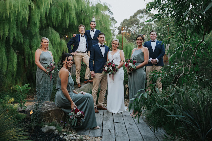 Wedding Party from a Rustic Mountain Wedding on Kara's Party Ideas | KarasPartyIdeas.com (28)