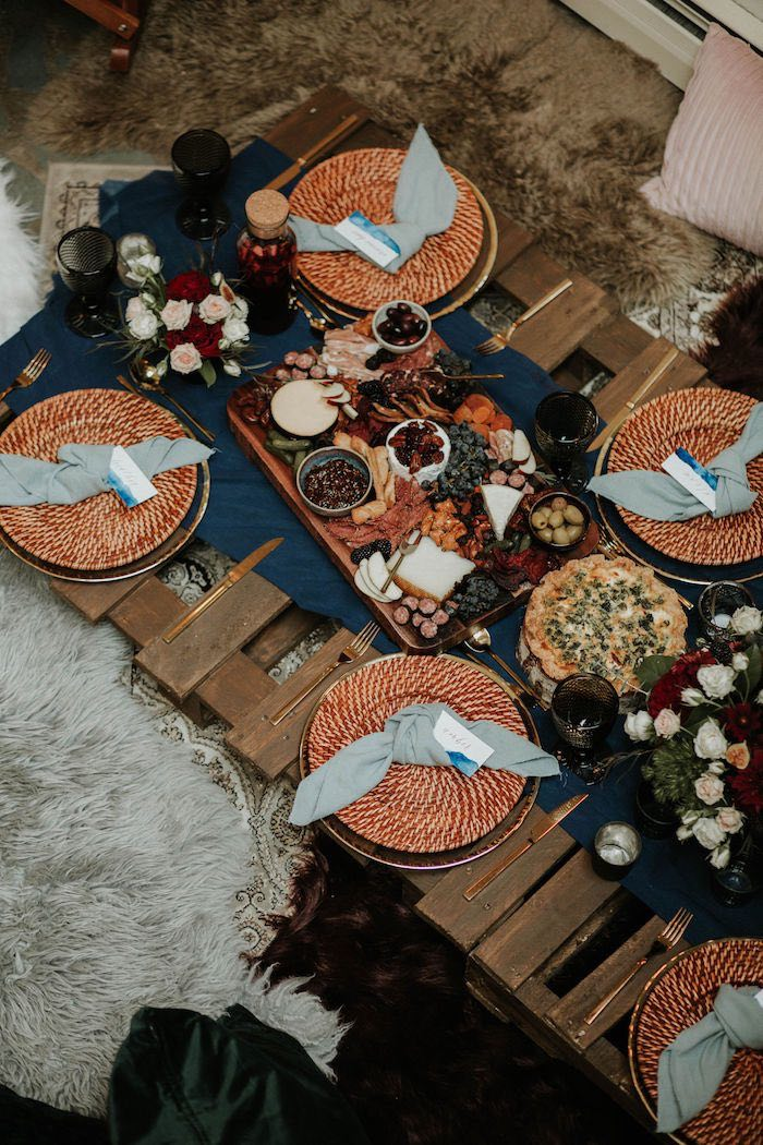 Picnic Tabletop from a Teddy Bear's Picnic Baby Shower on Kara's Party Ideas | KarasPartyIdeas.com (11)