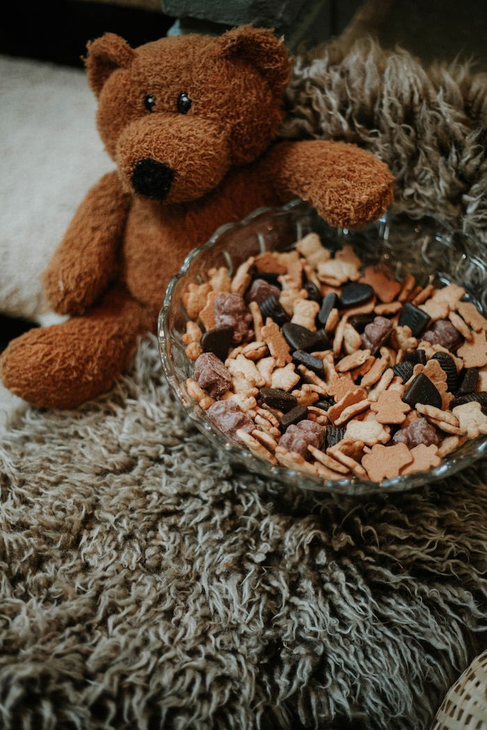 Teddy Bear Trail Mix from a Teddy Bear's Picnic Baby Shower on Kara's Party Ideas | KarasPartyIdeas.com (4)