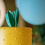 Tropical Pineapple Birthday Party on Kara's Party Ideas | KarasPartyIdeas.com (1)