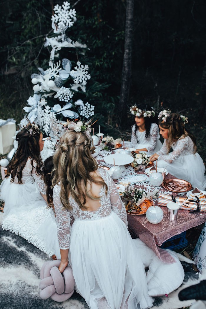 Whimsical Christmas Wonderland Party on Kara's Party Ideas | KarasPartyIdeas.com (15)