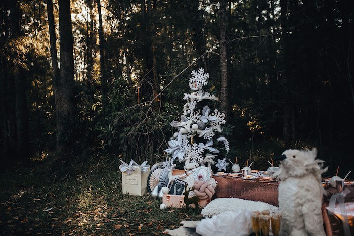 Whimsical Christmas Wonderland Party on Kara's Party Ideas | KarasPartyIdeas.com (32)