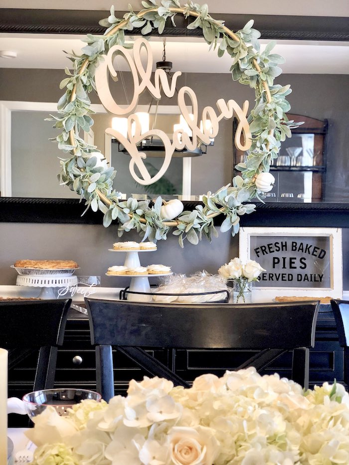 Kara S Party Ideas Rustic Elegant Farmhouse Baby Shower