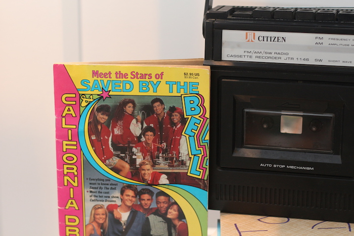 "Saved by the Bell Memorabilia from a ""Saved by the Bell"" Birthday Party on Kara's Party Ideas 