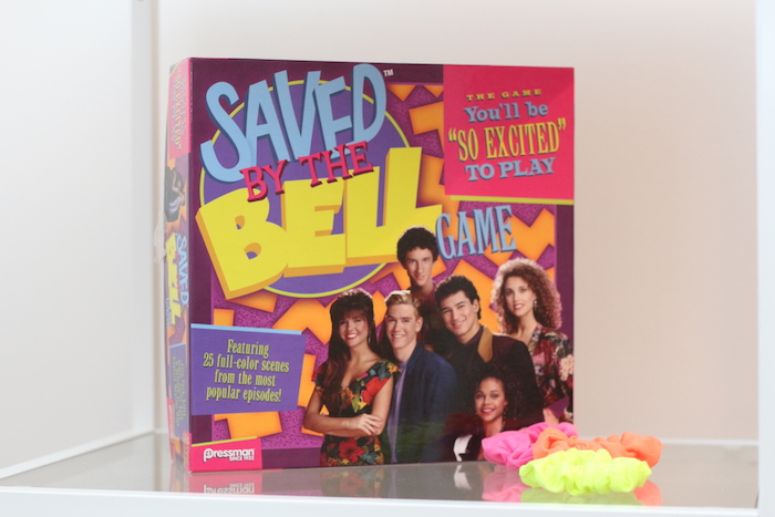 "Saved By The Bell Game from a ""Saved by the Bell"" Birthday Party on Kara's Party Ideas 