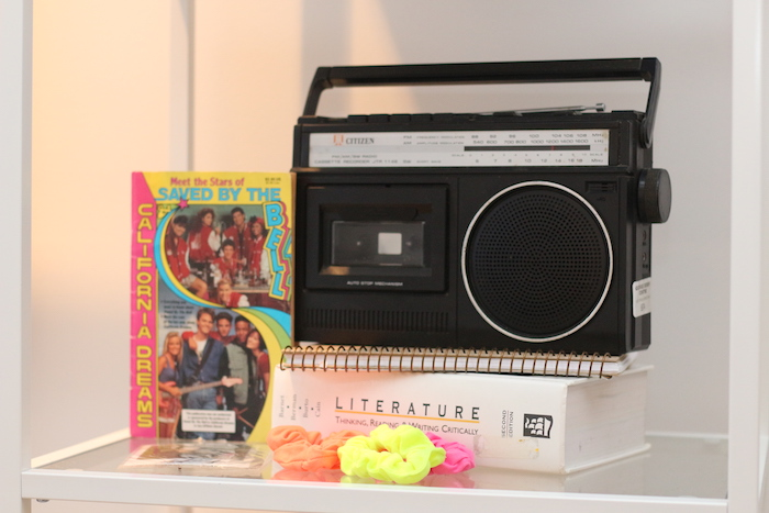 "Saved By The Bell Themed Decor + Memorabilia from a ""Saved by the Bell"" Birthday Party on Kara's Party Ideas 