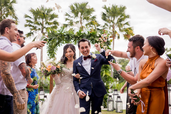 "Yahoo for the ""I Do's"" from a Bali Destination Island Wedding on Kara's Party Ideas | KarasPartyIdeas.com (5)"
