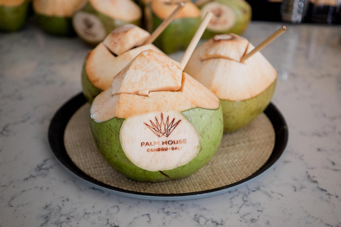 Coconut Drinks from a Bali Destination Island Wedding on Kara's Party Ideas | KarasPartyIdeas.com (23)