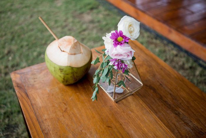 Blooms from a Bali Destination Island Wedding on Kara's Party Ideas | KarasPartyIdeas.com (20)