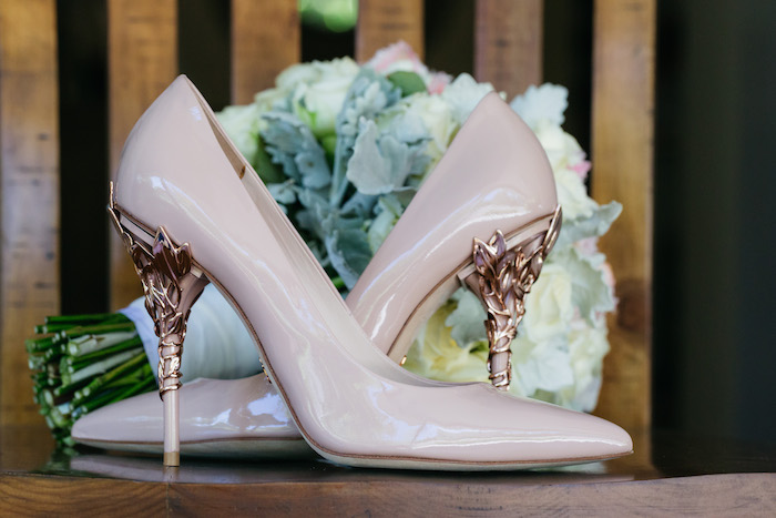 Wedding Shoes from a Ballet Inspired Wedding on Kara's Party Ideas | KarasPartyIdeas.com (47)