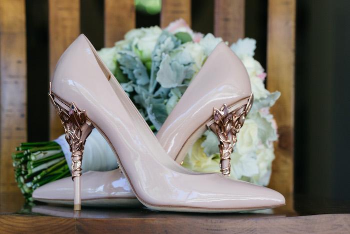 Wedding Shoes from a Ballet Inspired Wedding on Kara's Party Ideas | KarasPartyIdeas.com (47)