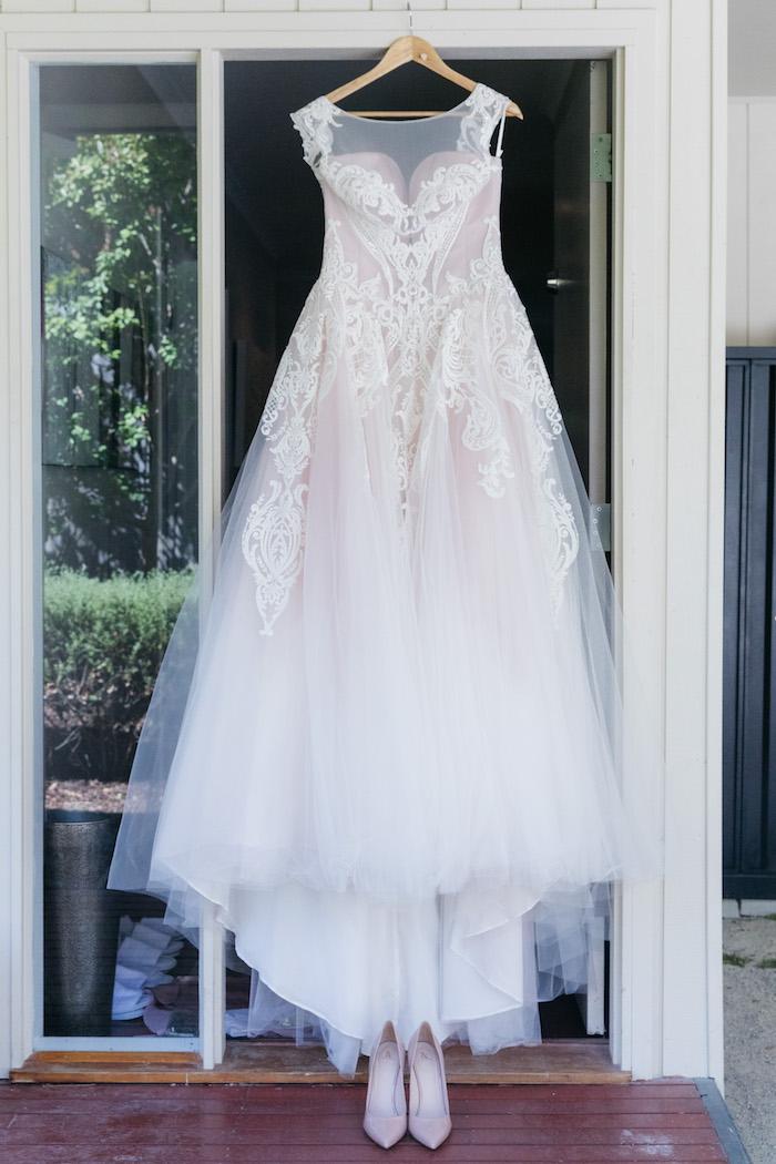 Ballet-inspired Wedding Dress from a Ballet Inspired Wedding on Kara's Party Ideas | KarasPartyIdeas.com (45)