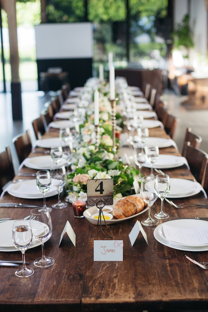 Guest + Dining Table from a Ballet Inspired Wedding on Kara's Party Ideas | KarasPartyIdeas.com (38)