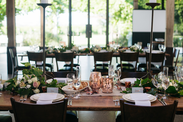 Garden-inspired Party Table from a Ballet Inspired Wedding on Kara's Party Ideas | KarasPartyIdeas.com (35)