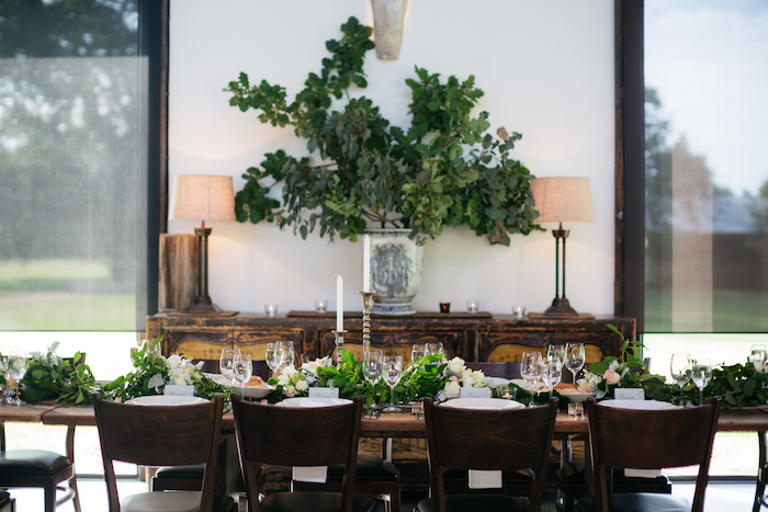 Garden-inspired Dining Table from a Ballet Inspired Wedding on Kara's Party Ideas | KarasPartyIdeas.com (34)