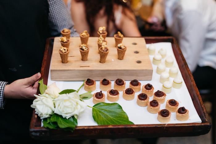 Dessert Plate from a Ballet Inspired Wedding on Kara's Party Ideas | KarasPartyIdeas.com (24)