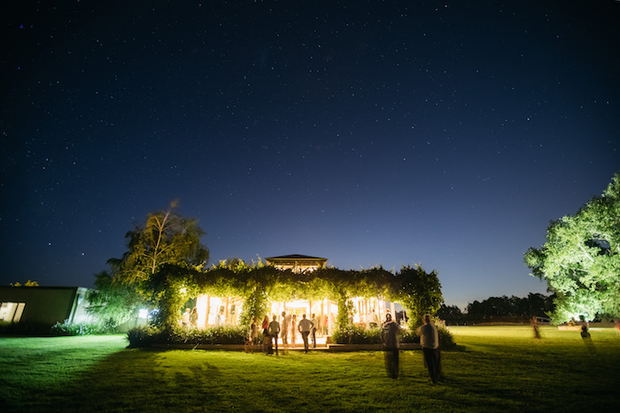 Light-lit Garden Venue from a Ballet Inspired Wedding on Kara's Party Ideas | KarasPartyIdeas.com (22)