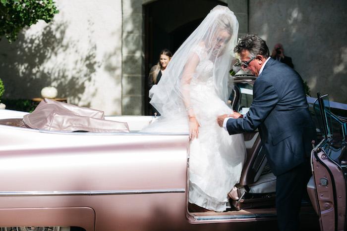 Bridal Arrival from a Ballet Inspired Wedding on Kara's Party Ideas | KarasPartyIdeas.com (18)
