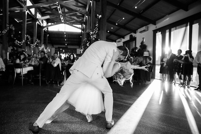 'The Dip' from a Ballet Inspired Wedding on Kara's Party Ideas | KarasPartyIdeas.com (12)