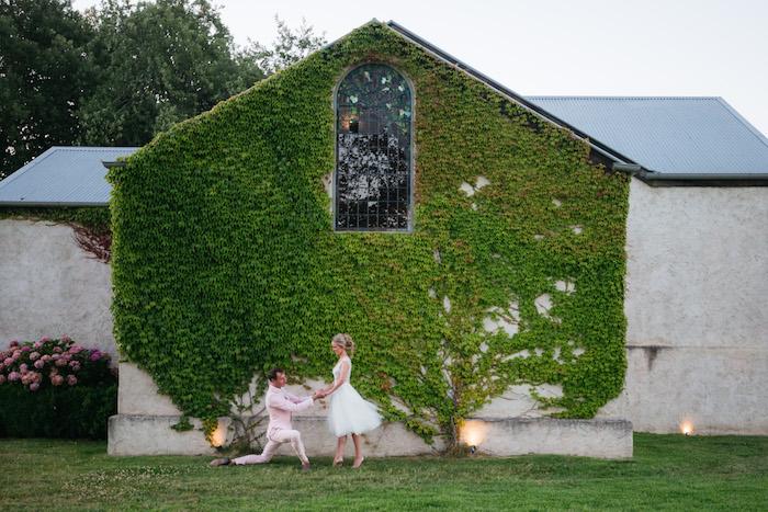 Ballet-inspired Bridals + Groomals from a Ballet Inspired Wedding on Kara's Party Ideas | KarasPartyIdeas.com (8)