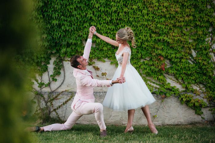 Ballet-inspired Bridals + Groomals from a Ballet Inspired Wedding on Kara's Party Ideas | KarasPartyIdeas.com (7)