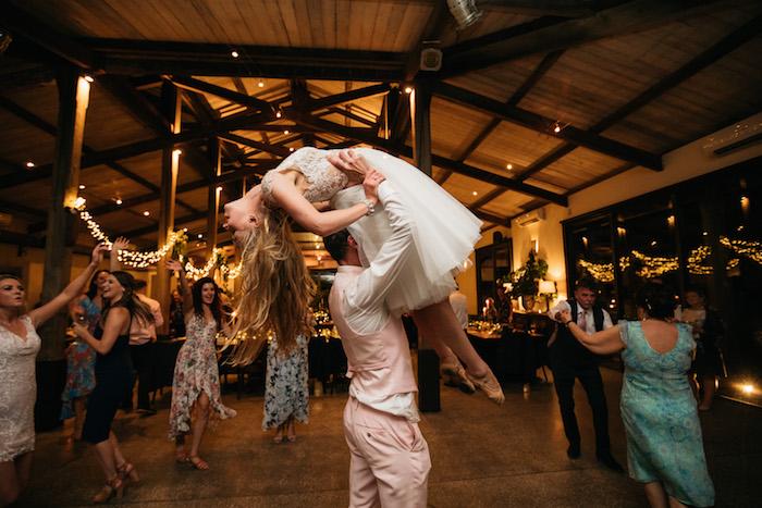 Ballet Dancing from a Ballet Inspired Wedding on Kara's Party Ideas | KarasPartyIdeas.com (6)
