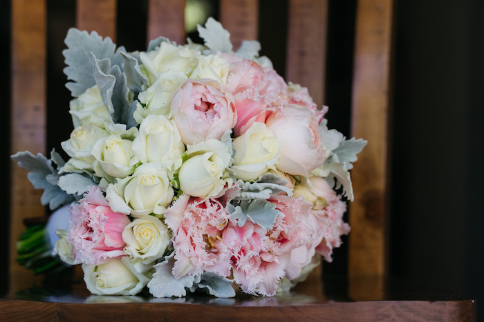 Light-colored Wedding Bouquet from a Ballet Inspired Wedding on Kara's Party Ideas | KarasPartyIdeas.com (53)