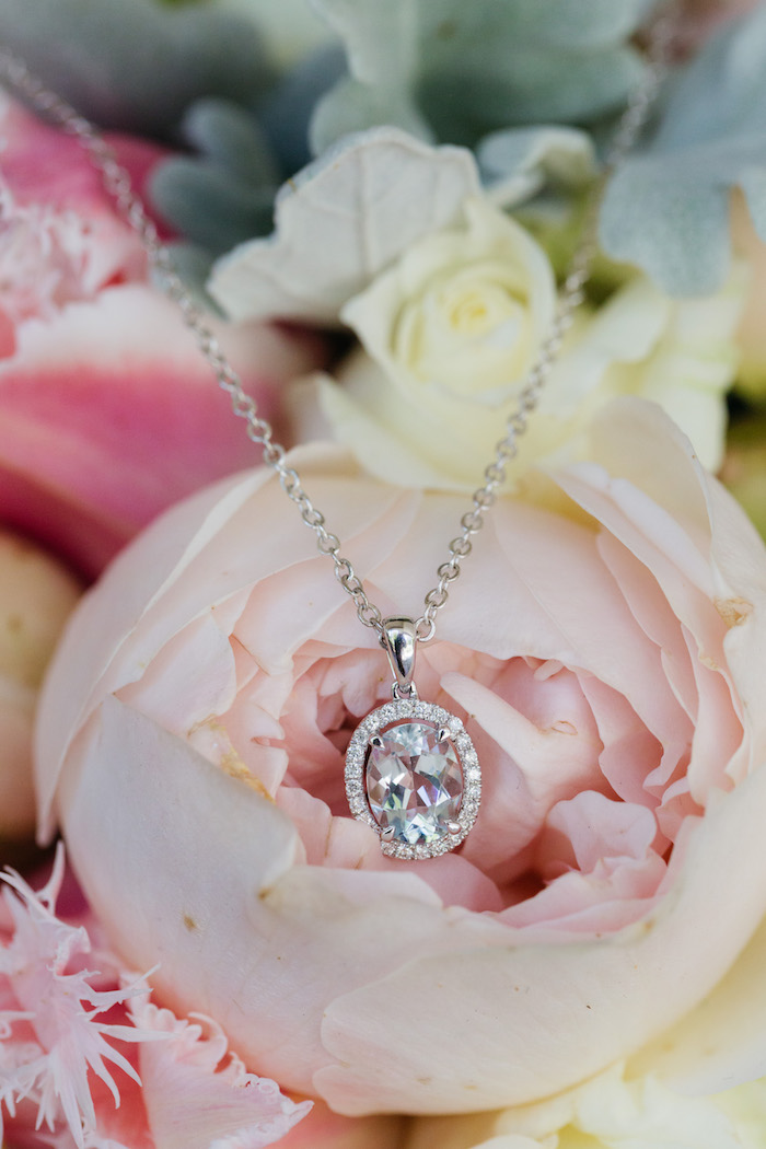 Diamond Necklace from a Ballet Inspired Wedding on Kara's Party Ideas | KarasPartyIdeas.com (50)