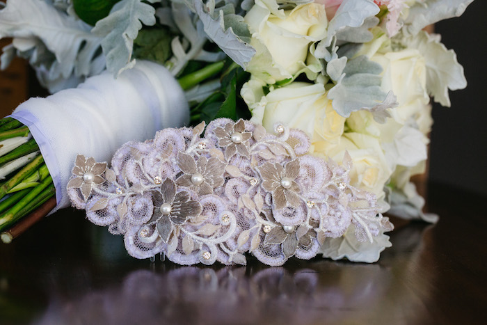 Floral Headpiece from a Ballet Inspired Wedding on Kara's Party Ideas | KarasPartyIdeas.com (49)
