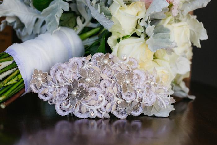 Floral Headpiece from a Ballet Inspired Wedding on Kara's Party Ideas | KarasPartyIdeas.com (49)
