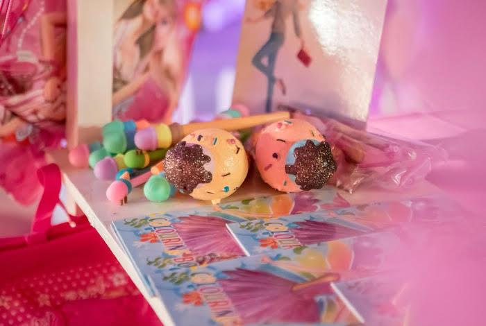 Ice Cream Cone Favors from a Barbie Ice Cream Birthday Party on Kara's Party Ideas | KarasPartyIdeas.com (4)