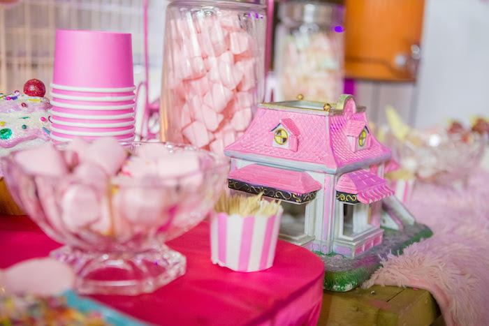 Barbie Ice Cream Shop from a Barbie Ice Cream Birthday Party on Kara's Party Ideas | KarasPartyIdeas.com (7)