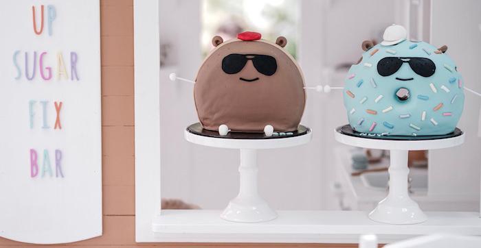 Bear Cub Club BroNut Birthday Party on Kara's Party Ideas   KarasPartyIdeas.com (2)