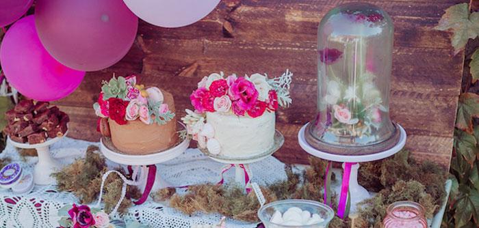 Bohemian Garden 10th Birthday Party on Kara's Party Ideas | KarasPartyIdeas.com (3)
