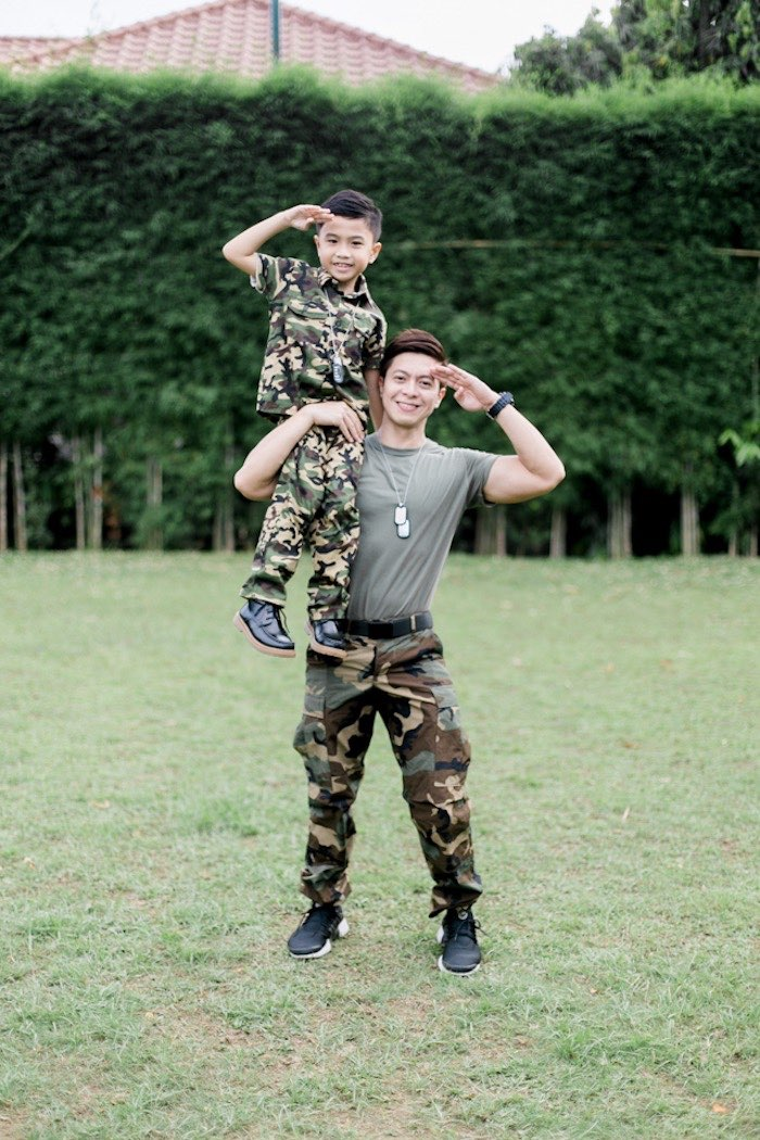 Camouflage Military Themed Birthday Party on Kara's Party Ideas | KarasPartyIdeas.com (9)