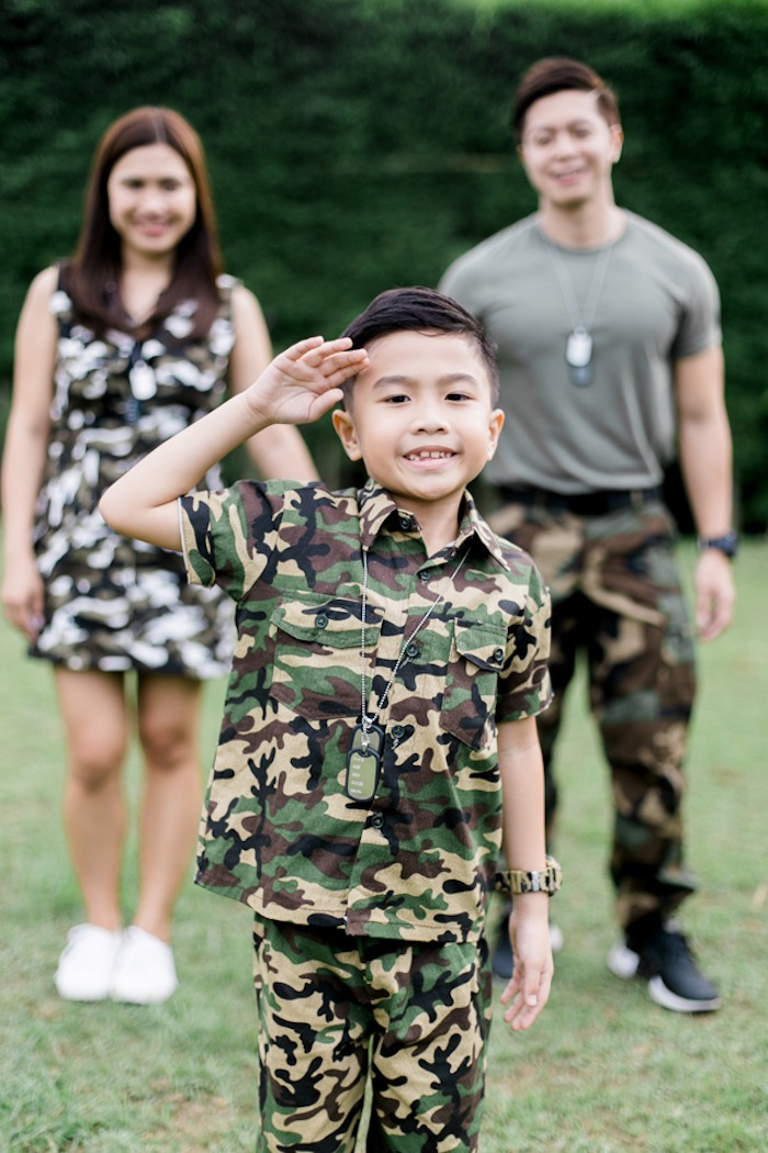 Camouflage Military Themed Birthday Party on Kara's Party Ideas | KarasPartyIdeas.com (8)