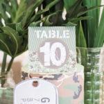 Camouflage Military Themed Birthday Party on Kara's Party Ideas | KarasPartyIdeas.com (2)
