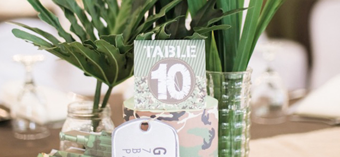 Camouflage Military Themed Birthday Party on Kara's Party Ideas | KarasPartyIdeas.com (2)