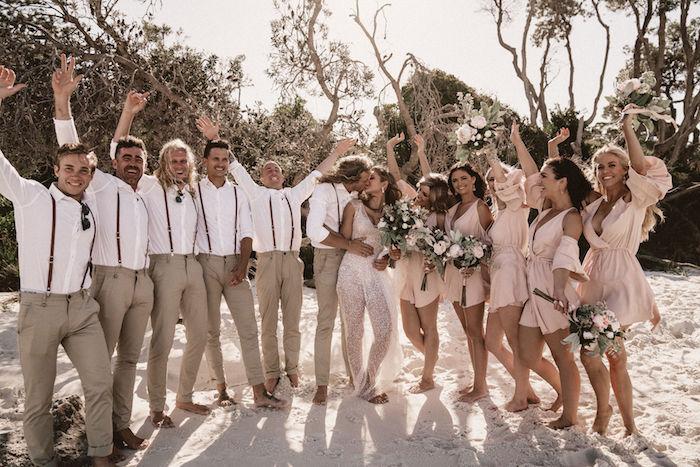 Coachella Inspired Seaside Wedding on Kara's Party Ideas | KarasPartyIdeas.com (9)