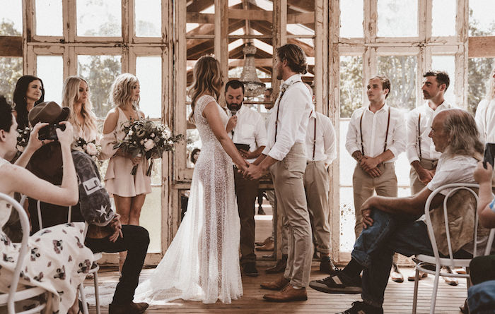 Coachella Inspired Seaside Wedding on Kara's Party Ideas | KarasPartyIdeas.com (18)
