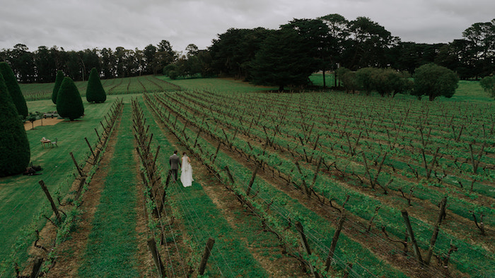 Fields of Beauty from a Malaysia to Melbourne Romantic Destination Wedding on Kara's Party Ideas | KarasPartyIdeas.com (15)