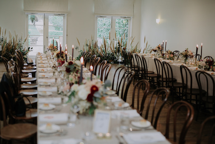 Guest Tables from a Malaysia to Melbourne Romantic Destination Wedding on Kara's Party Ideas | KarasPartyIdeas.com (7)