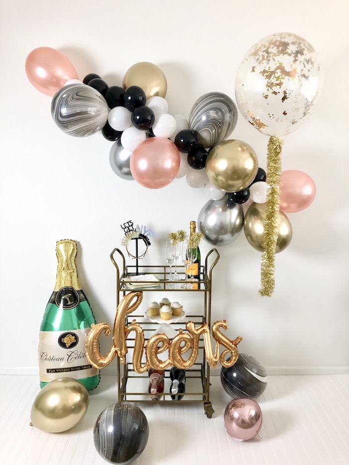 New Year's Eve Drink & Dessert Station on Kara's Party Ideas | KarasPartyIdeas.com (12)