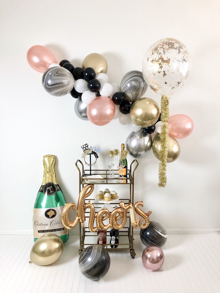 New Year's Eve Drink & Dessert Station on Kara's Party Ideas | KarasPartyIdeas.com (6)